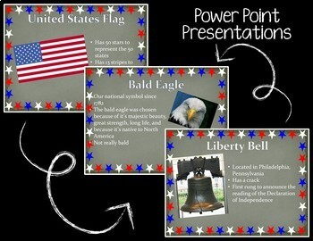 U.S.A. BUNDLE - Landmarks and Symbols: No-Prep Units and Presentations