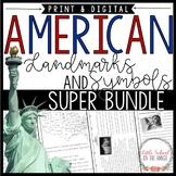 United States SUPER BUNDLE - Landmarks and Symbols