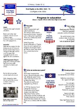 USA Civil Rights 1945-74