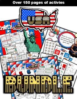 USA Classroom Center Bundle