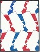 USA Color by Number Bundle. Lincoln, Flag, Stars, Presidents, Statue of Liberty