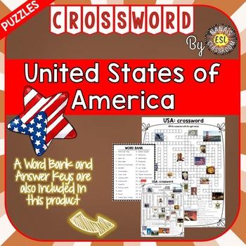 USA Crossword Puzzles