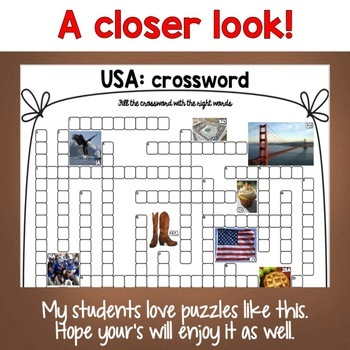 USA Crossword Puzzles