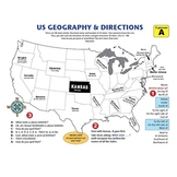 USA Directions & Prepositions