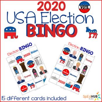 USA Election Bingo
