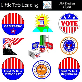 USA Election Clip Art