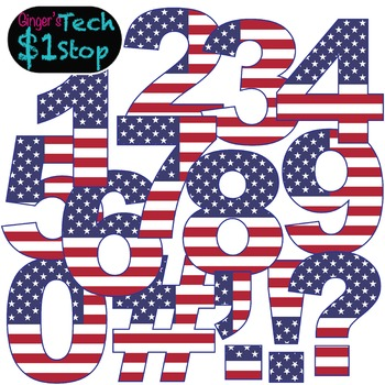 USA Flag * Numbers and Punctuation * Bulletin Board * Election