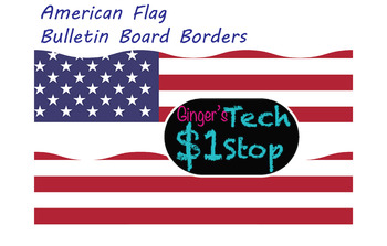 USA Flag * Page Borders * Bulletin Board * Election Stars