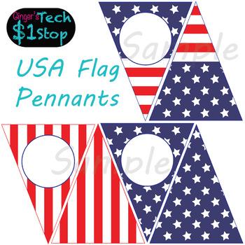 USA Flag * Pennant Banners * Bunting