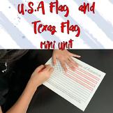 USA Flag and Texas Flag Mini Unit
