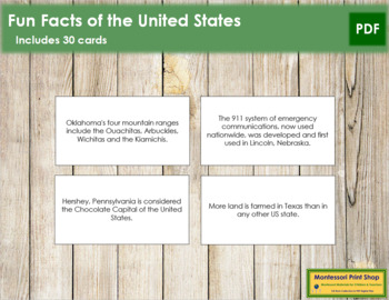 USA Fun Facts