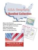 U.S.A. Geography- Bundle