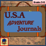 U.S.A. Geography Adventure Journals