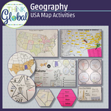 USA Geography - 50 State Research Project - United States