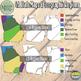 USA - Georgia Maps and Geographic Regions Set {Messare Clips and Design}