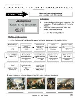 American Revolution Package: 20+ Pages/Slides of Fun and Engaging Activities!