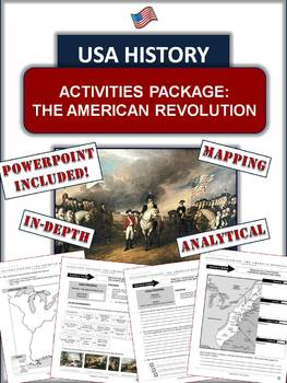American Revolution Package: 20+ Pages/Slides of Fun and E