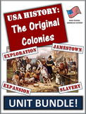 Thirteen Colonies Bundle: 75+ Pages/Slides of Activities and Resources!