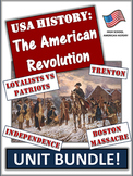 American Revolution Unit Bundle: 65+ Page/Slides of Activi