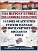 American Revolution Unit Bundle: 65+ Page/Slides of Activi