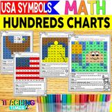 USA Symbols Hundreds Chart Hidden Pictures