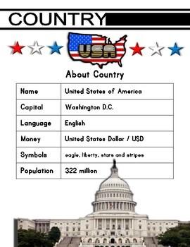 USA / July 4th Activity Set