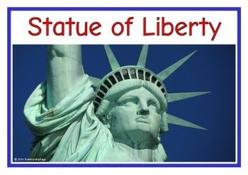USA Landmarks Photo Set