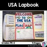 USA Lapbook for Early Learners - A Country Study