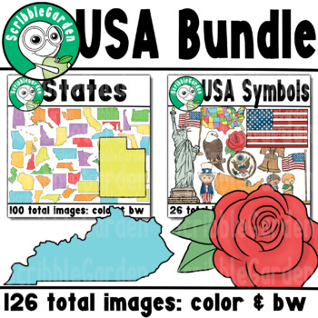 USA ClipArt Bundle