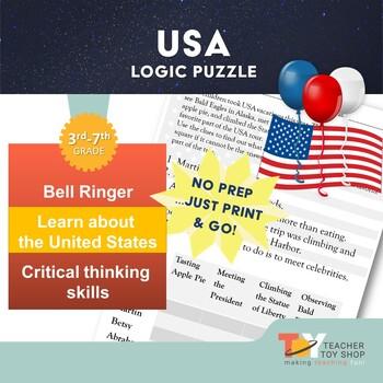 USA Logic Puzzle