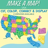 USA Make a Map!      United States Interactive Bulletin Bo