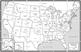 USA Map PDF Template