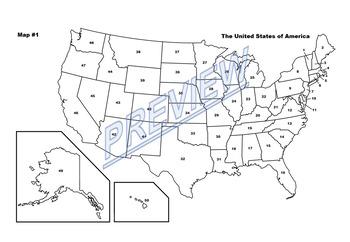 USA Map Quiz #6