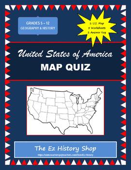 USA Map Quiz #7