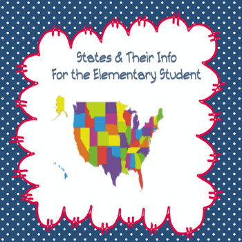 USA Map: regions, states, flags info for the elementary student