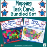 Mapping Task Cards USA     Bundle