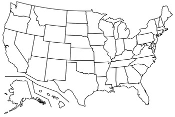USA Midwestern States Map Quiz