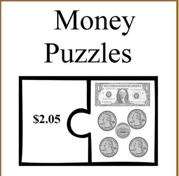 USA Money Puzzles