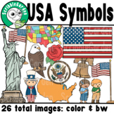 USA National Symbols ClipArt