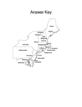 USA Northeast Region Quiz
