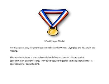 Team USA Winter Olympics Medal