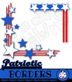 USA Page Border Clip Art