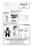 USA Passport page
