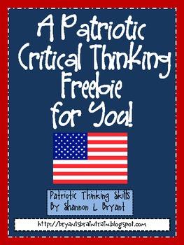 USA Patriotic Critical Thinking