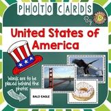USA Photo Flash Cards