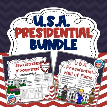 Usa Presidential Bundle 3 Branches Of By Humble Heart