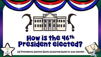 USA Presidential Election 2020 - Explaining Basics (Growing Bundle)