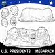 USA Presidents Day Mt Rushmore SUPER PACK Washington Jefferson Roosevelt Lincoln