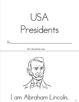 President's Day Book (USA Presidents)