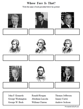 USA Presidents mega-packet!